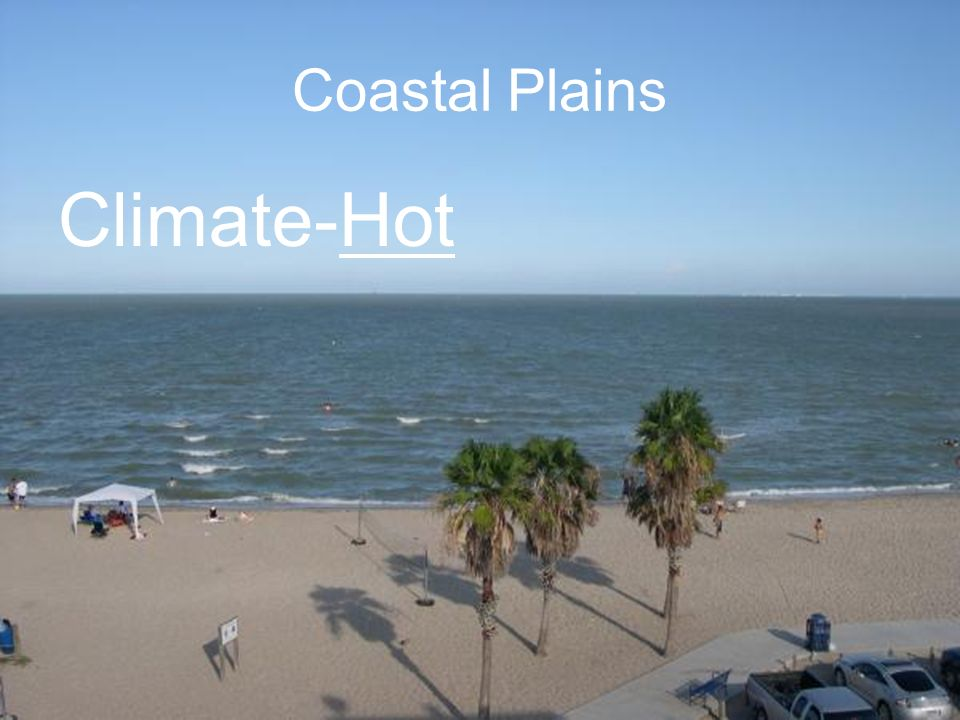 Coastal Plains Climate-Hot