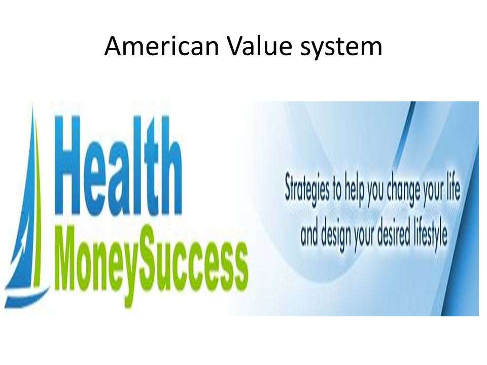 American Value system