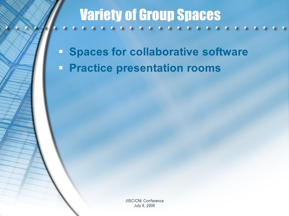 Variety of Group Spaces
