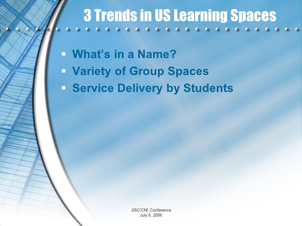 3 Trends in US Learning Spaces