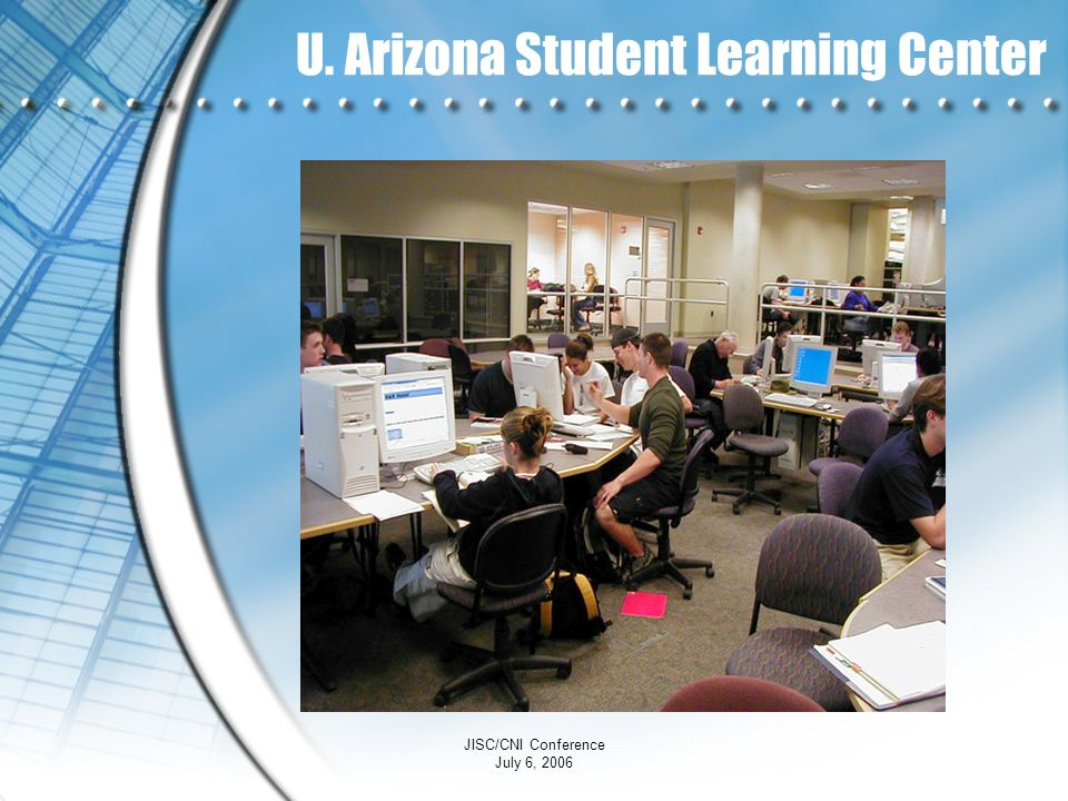 U. Arizona Student Learning Center