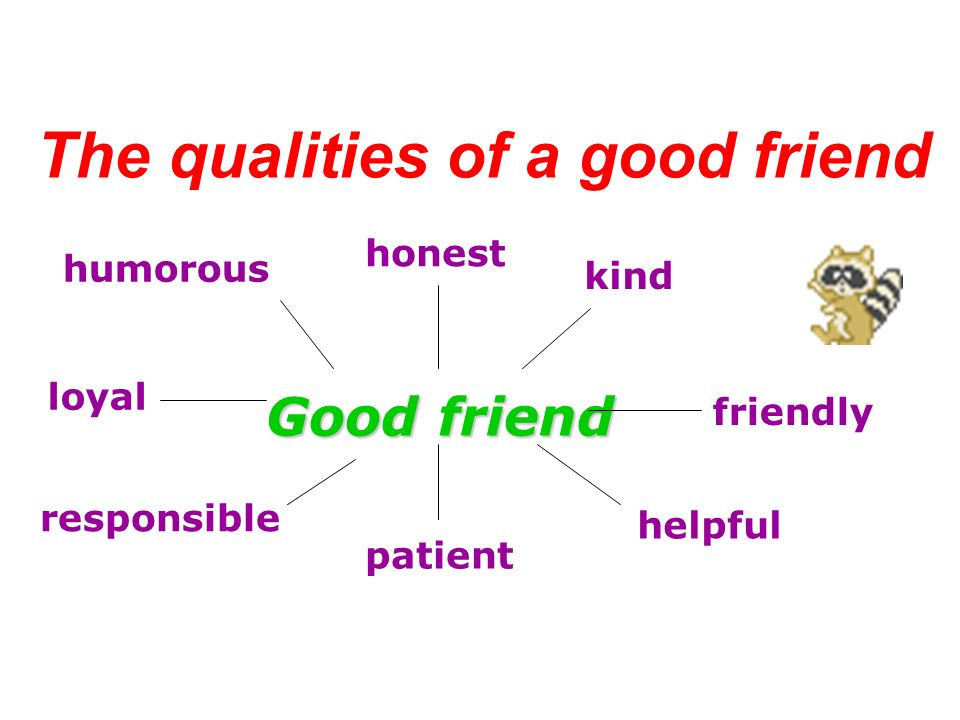Qualities Of A Good Friend Essay