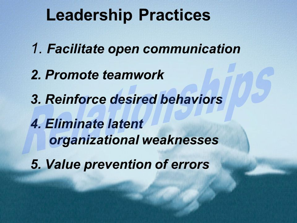 how to establish open communication relationship