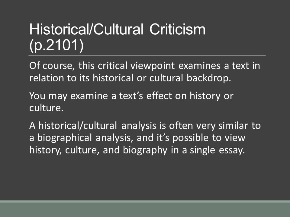 Biographical Criticism Essay – Steps to make It Very good and Appealing?