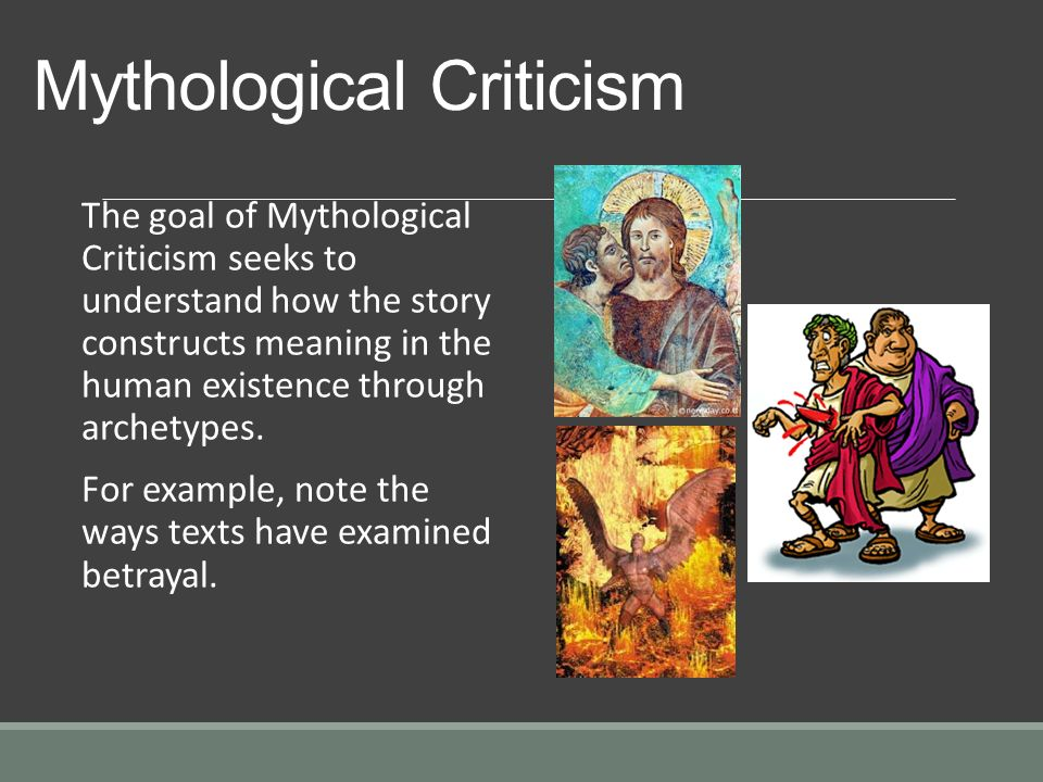 The mythological archetypal approach reading of andrew