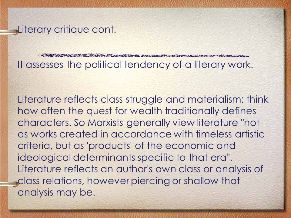 marxist literary criticism lord of the flies ppt video online  literary critique cont