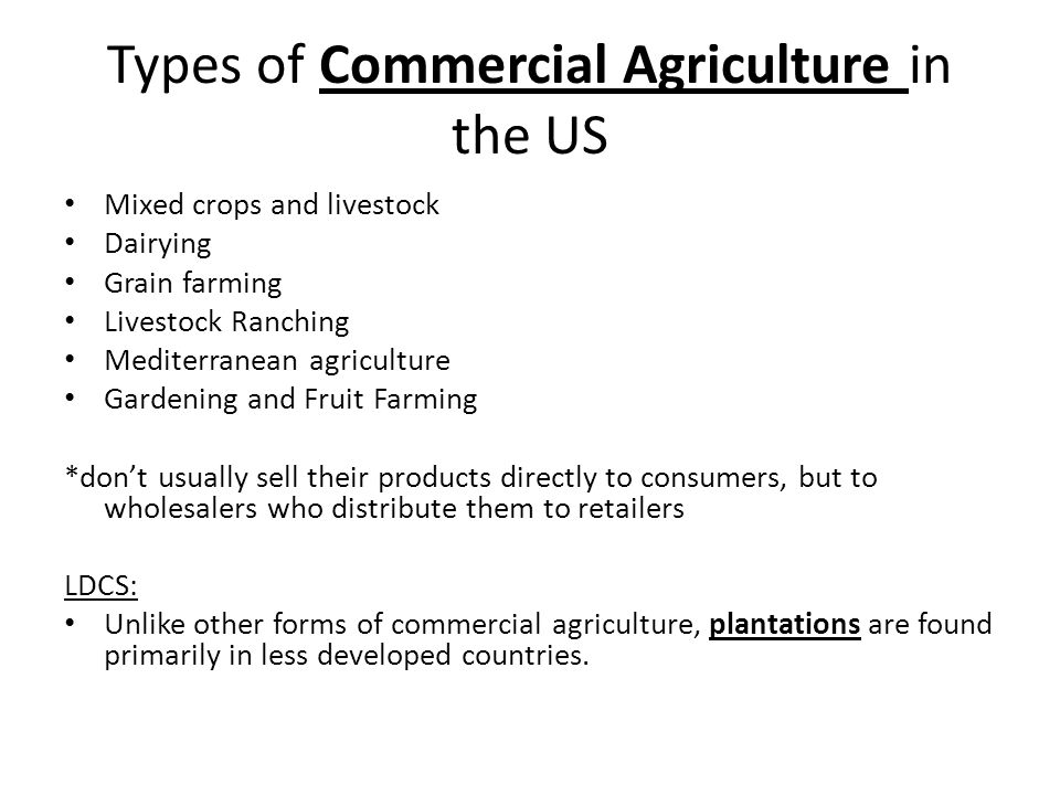 Agriculture- Key Issue 2 & 3 - ppt video online download