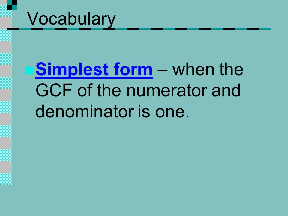 Simplifying Fractions Ppt Download