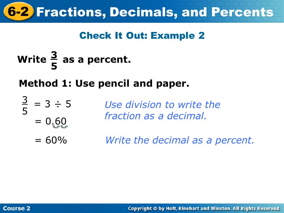 how do you write a decimal as a fraction Write each decimal as a fraction or mixed number write each fraction or mixed number as a decimal you can write decimals as fractions or mixed numbers.