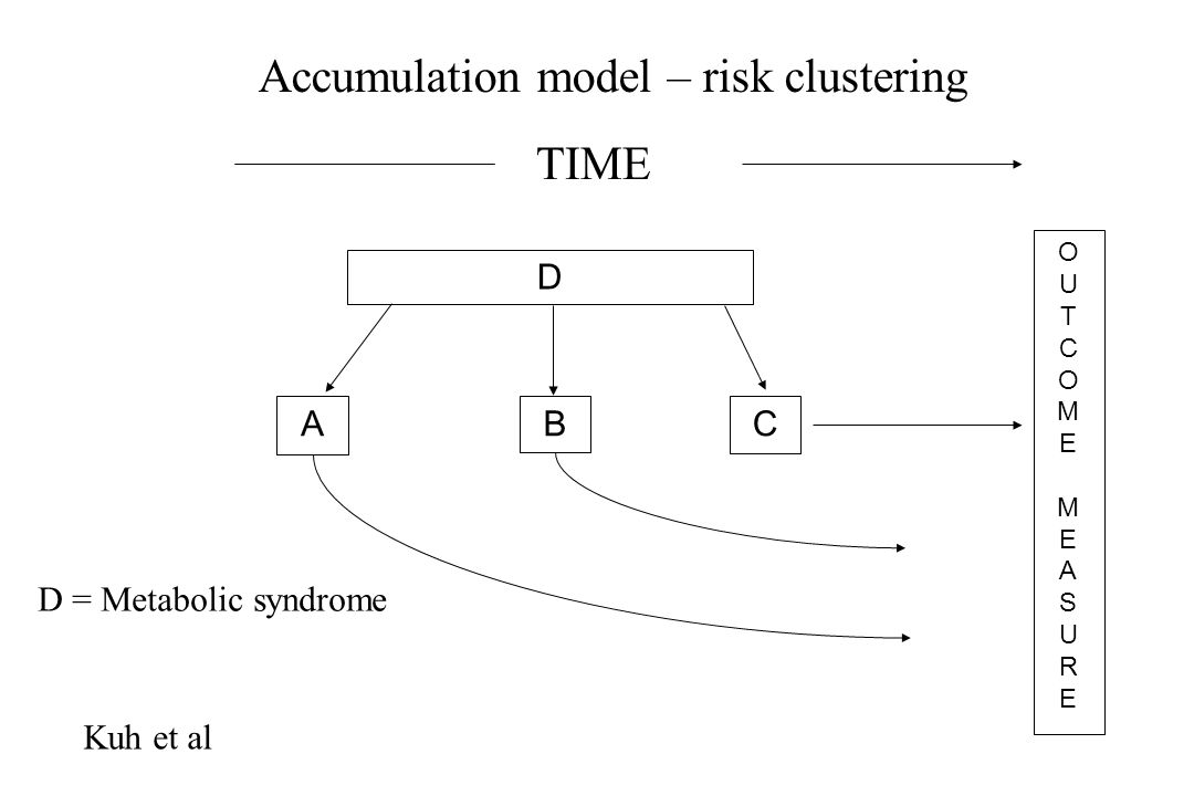 Accumulation model – risk clustering