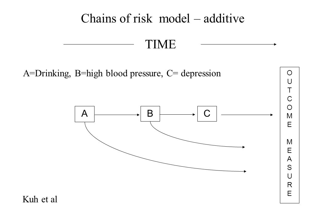 Chains of risk model – additive