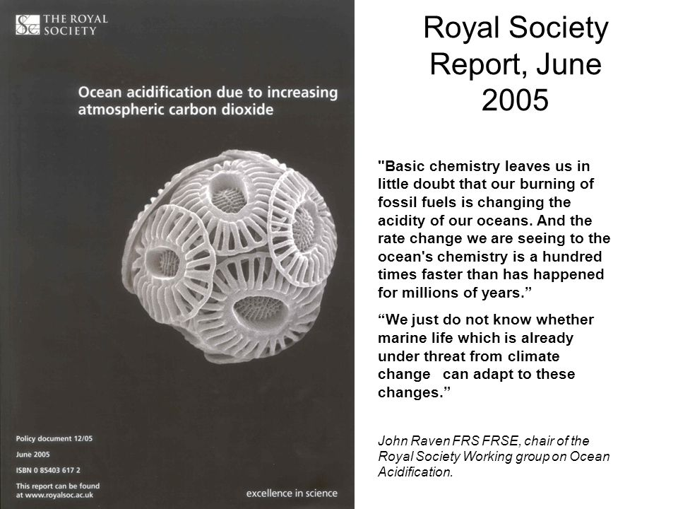 Royal Society Report, June 2005