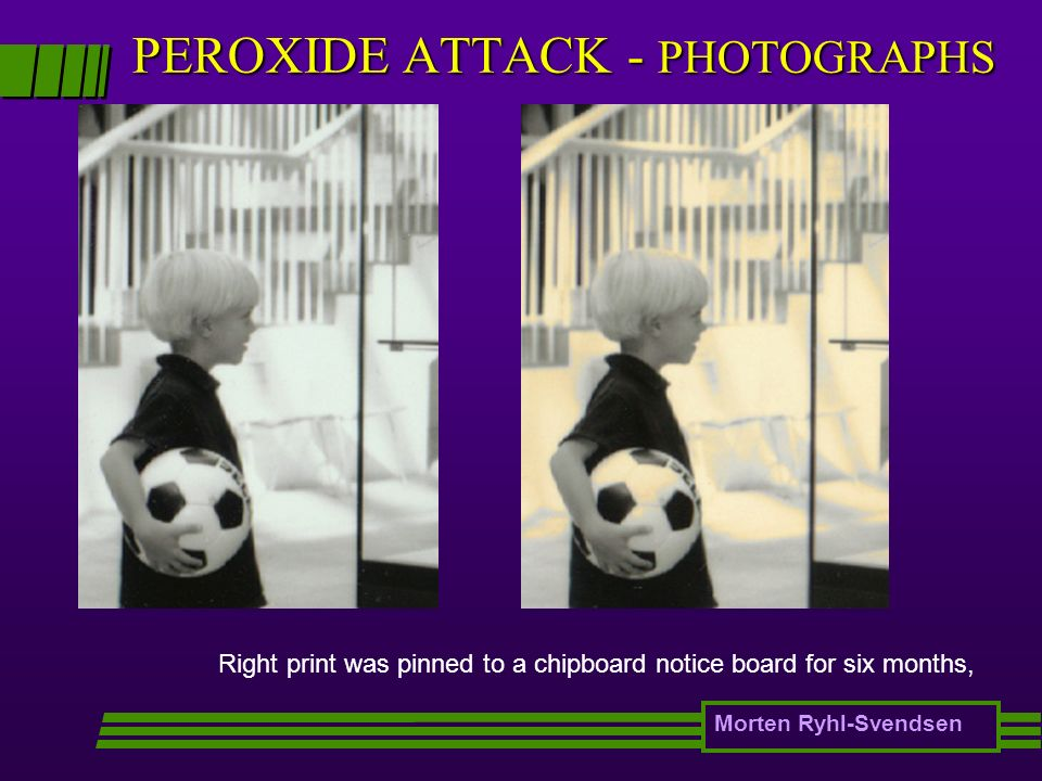 PEROXIDE ATTACK - PHOTOGRAPHS