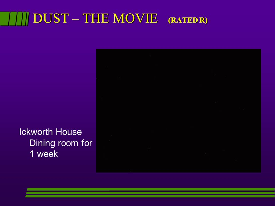 DUST – THE MOVIE (RATED R)