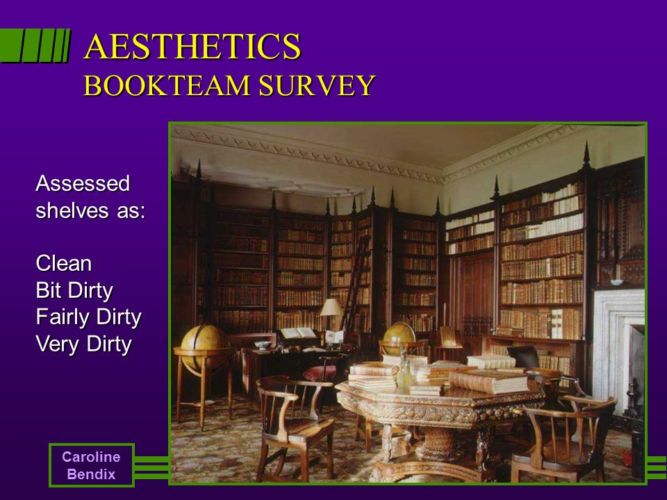 AESTHETICS BOOKTEAM SURVEY