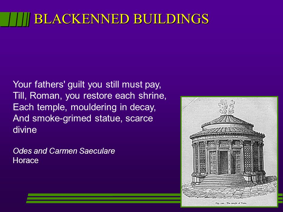 BLACKENNED BUILDINGS