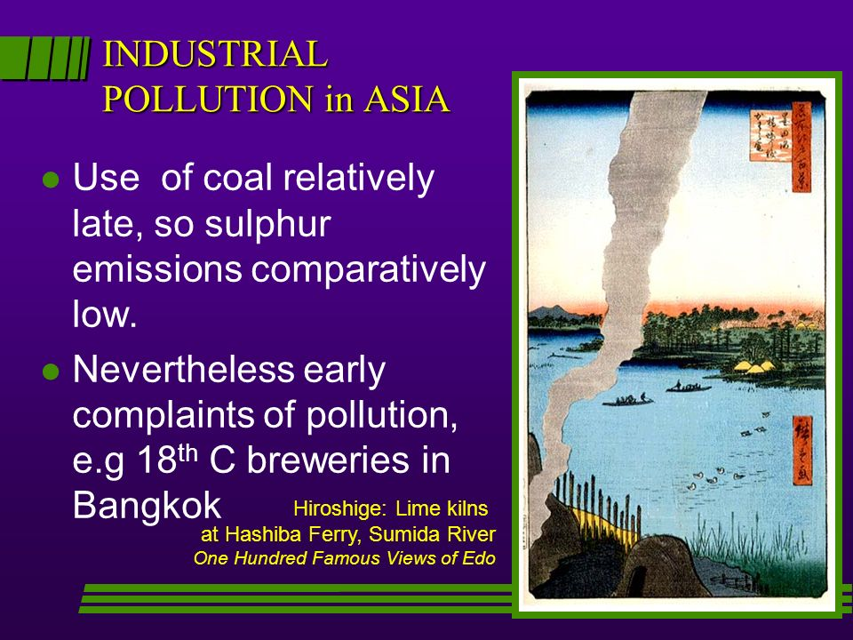 INDUSTRIAL POLLUTION in ASIA