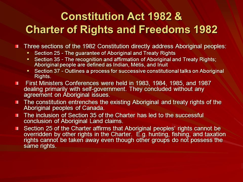 how to change a section of the canadian constitution
