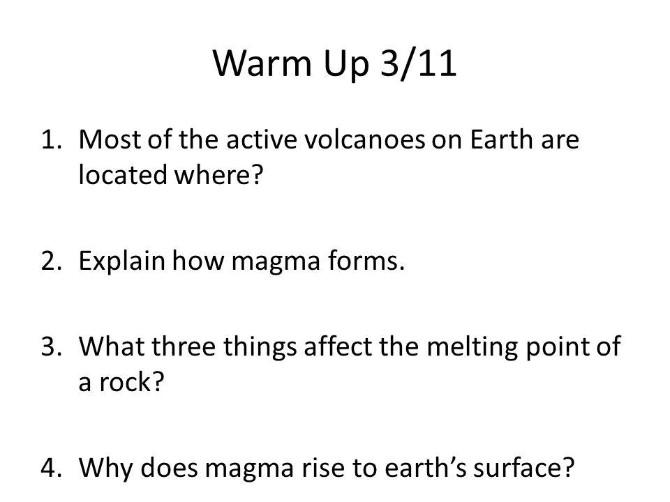 Volcanoes March 9, ppt video online download