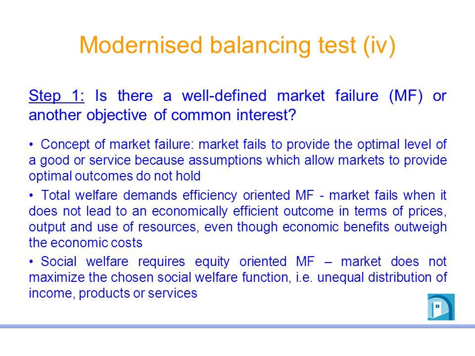 Modernised balancing test (iv)