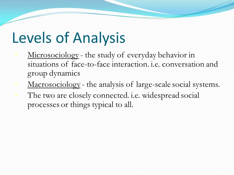 analysis of workplace behaviour sociology Organizational analysis from stanford university in this introductory, self-paced   a mcfarland, professor education, sociology, and organizational behavior.
