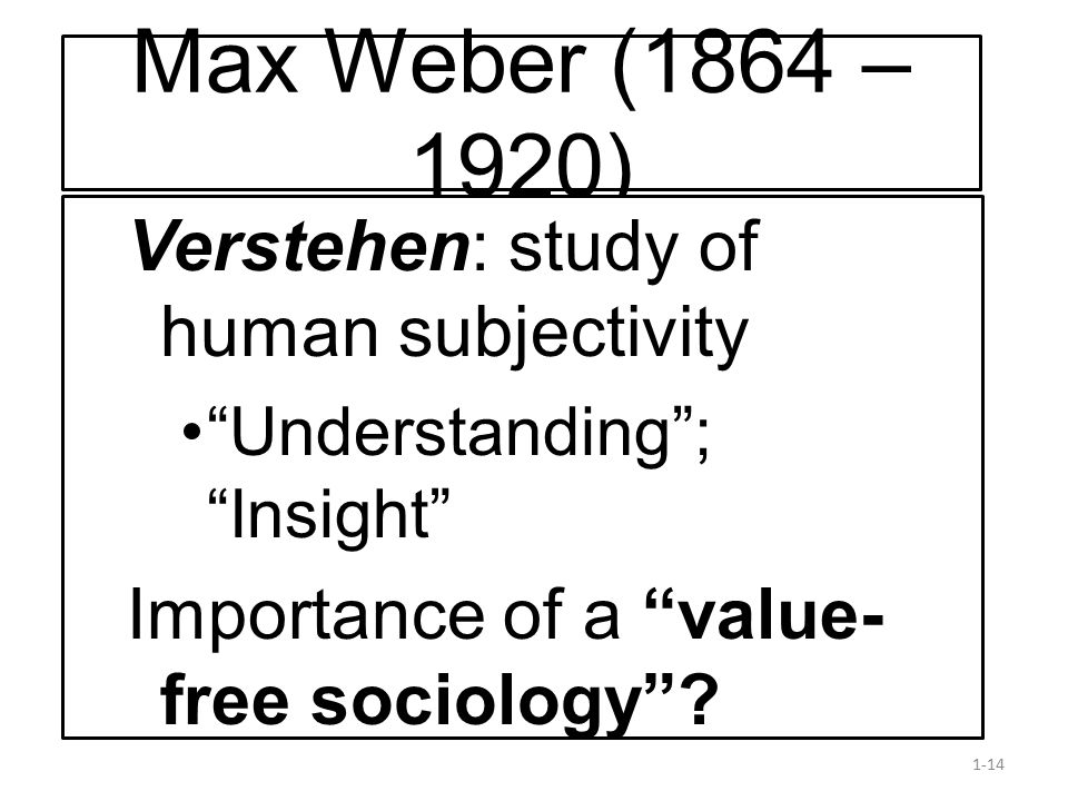 understanding the concept of value free sociology Understanding the concept of health  are value-free and descriptive to say that a person has a certain disease or that he or  not to discuss the sociology of.