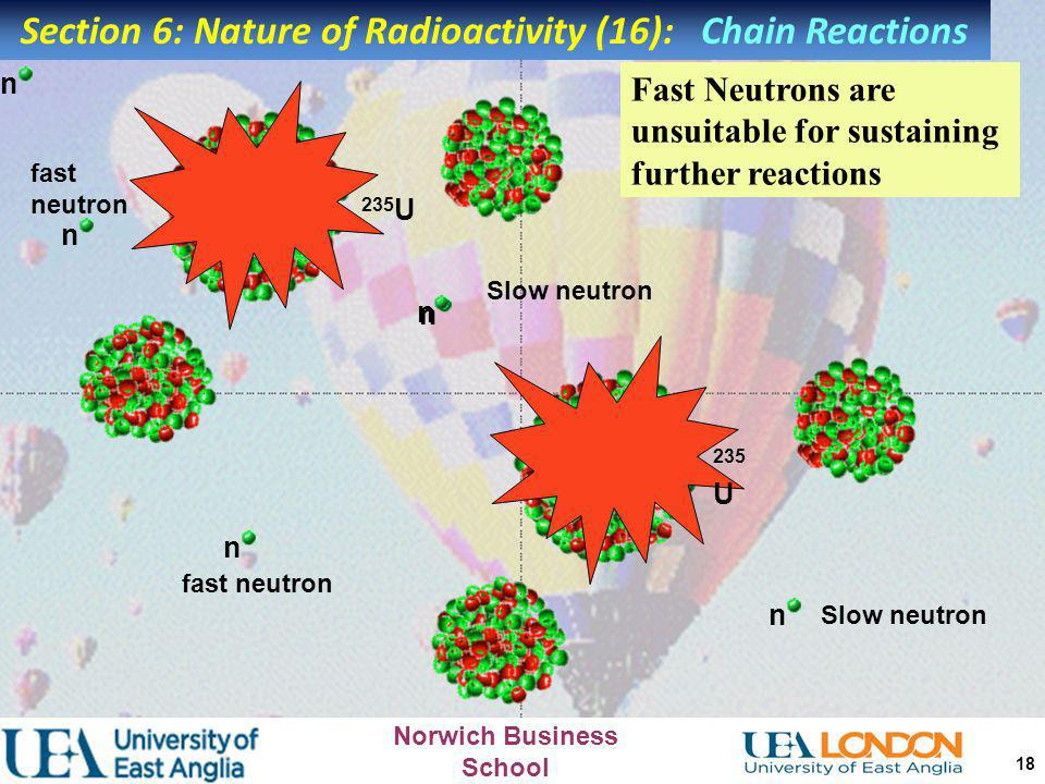 Section 6: Nature of Radioactivity (16): Chain Reactions