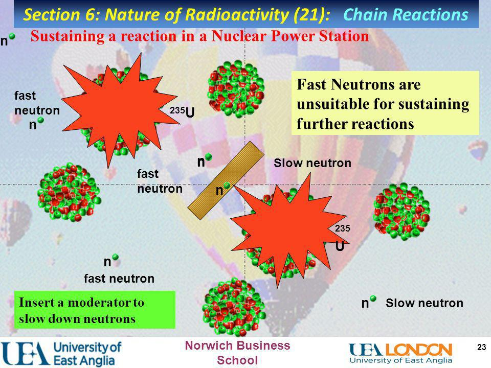 Section 6: Nature of Radioactivity (21): Chain Reactions