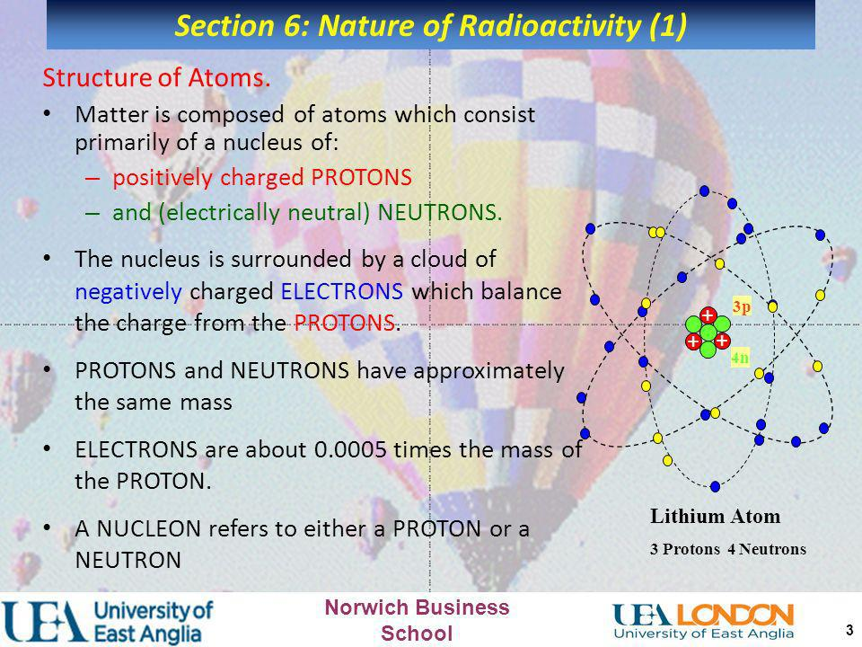 Section 6: Nature of Radioactivity (1)