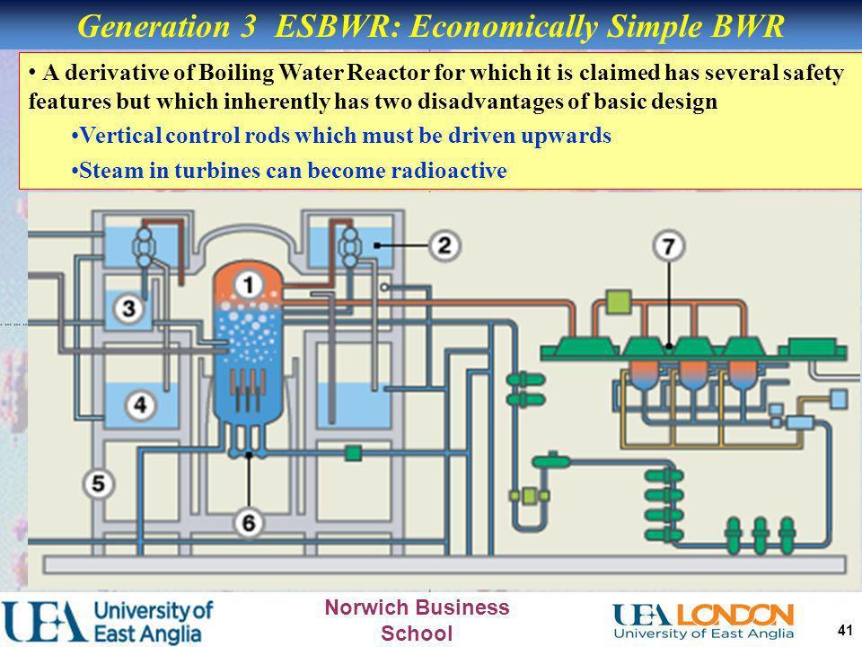 Generation 3 ESBWR: Economically Simple BWR