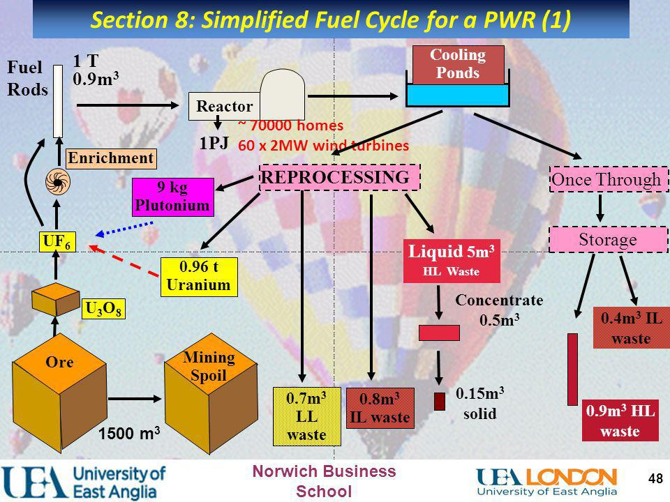 Section 8: Simplified Fuel Cycle for a PWR (1)