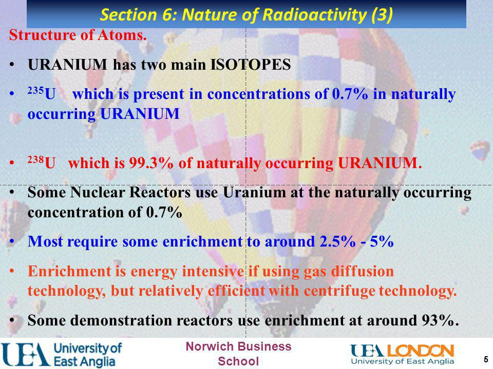 Section 6: Nature of Radioactivity (3)