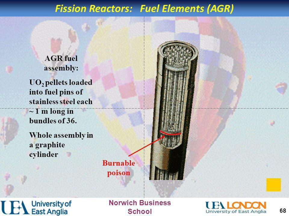 Fission Reactors: Fuel Elements (AGR)