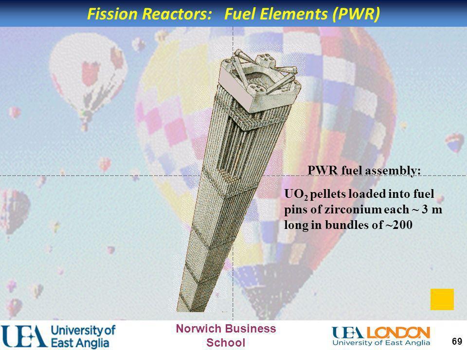Fission Reactors: Fuel Elements (PWR)