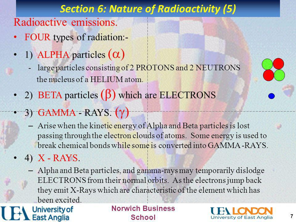 Section 6: Nature of Radioactivity (5)
