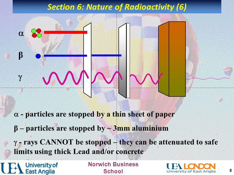 Section 6: Nature of Radioactivity (6)