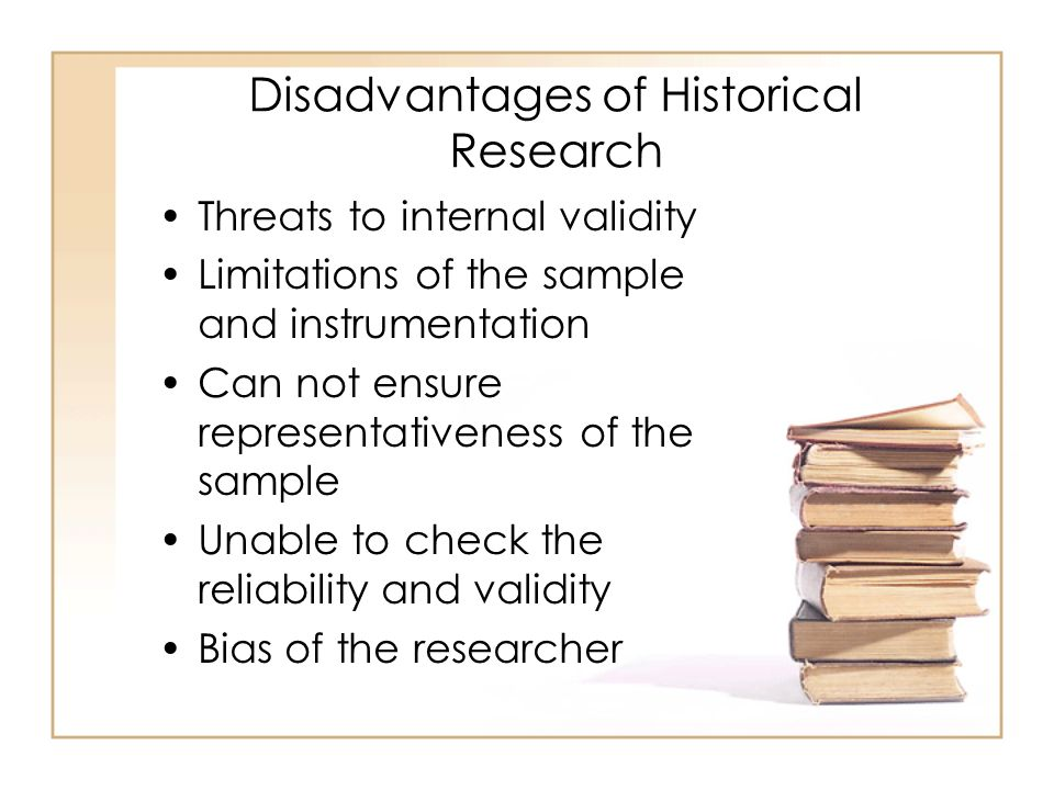 Disadvantages of research