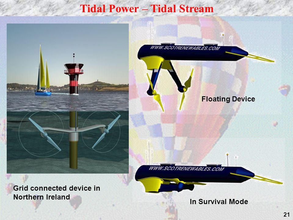 Tidal Power – Tidal Stream