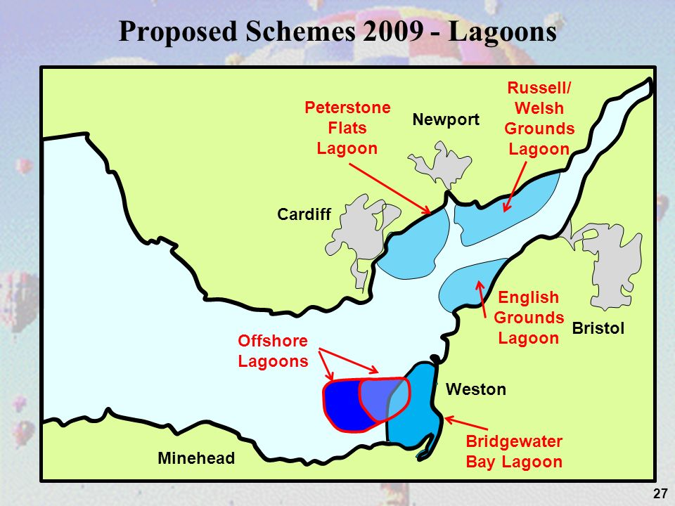 Proposed Schemes 2009 - Lagoons