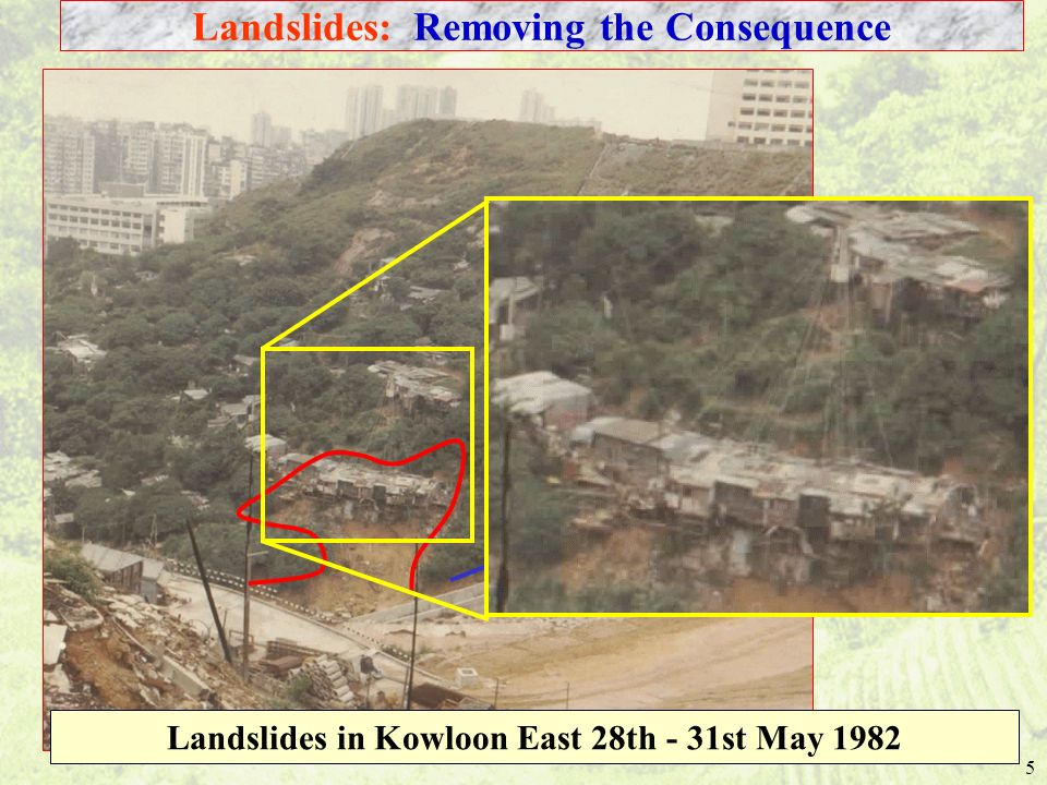 Landslides: Removing the Consequence