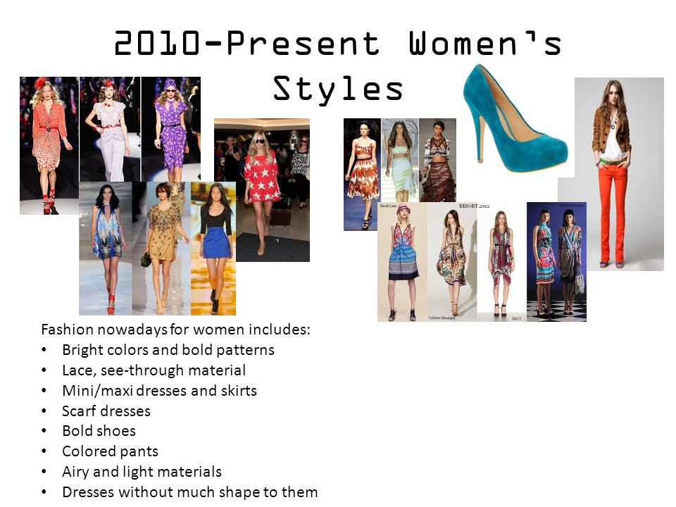 Fashion Styles Throughout The Decades Ppt Video Online Download