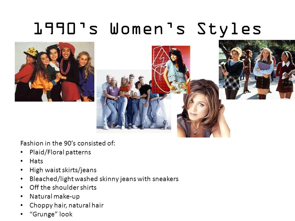 Fashion Styles Throughout The Decades Ppt Video Online