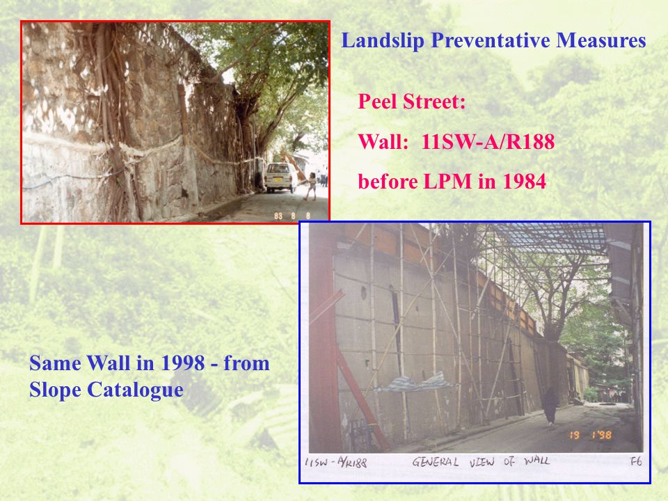Landslip Preventative Measures