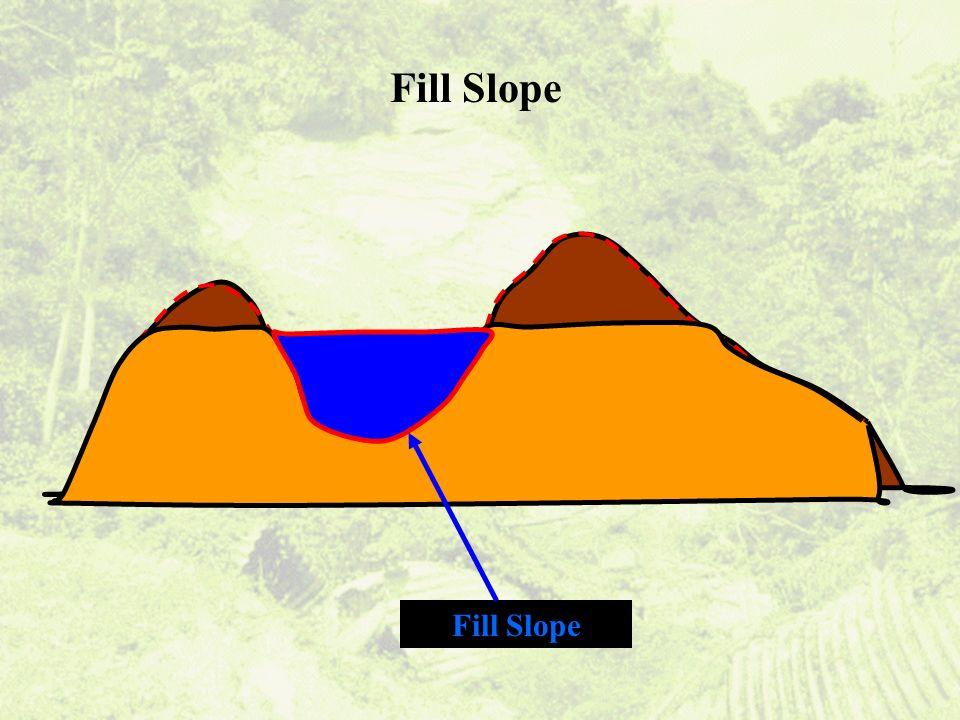Fill Slope Fill Slope