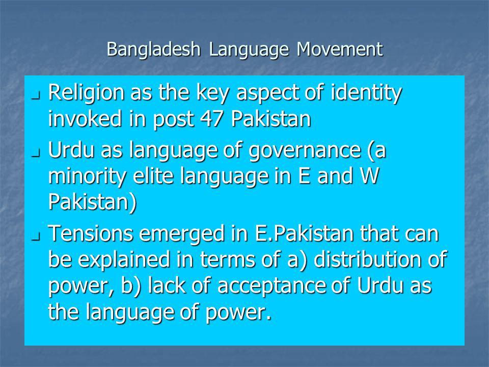 Bangladesh Language Movement