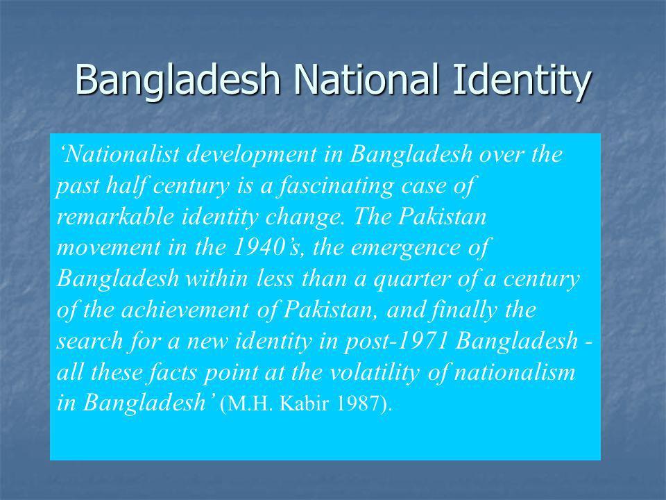 Bangladesh National Identity