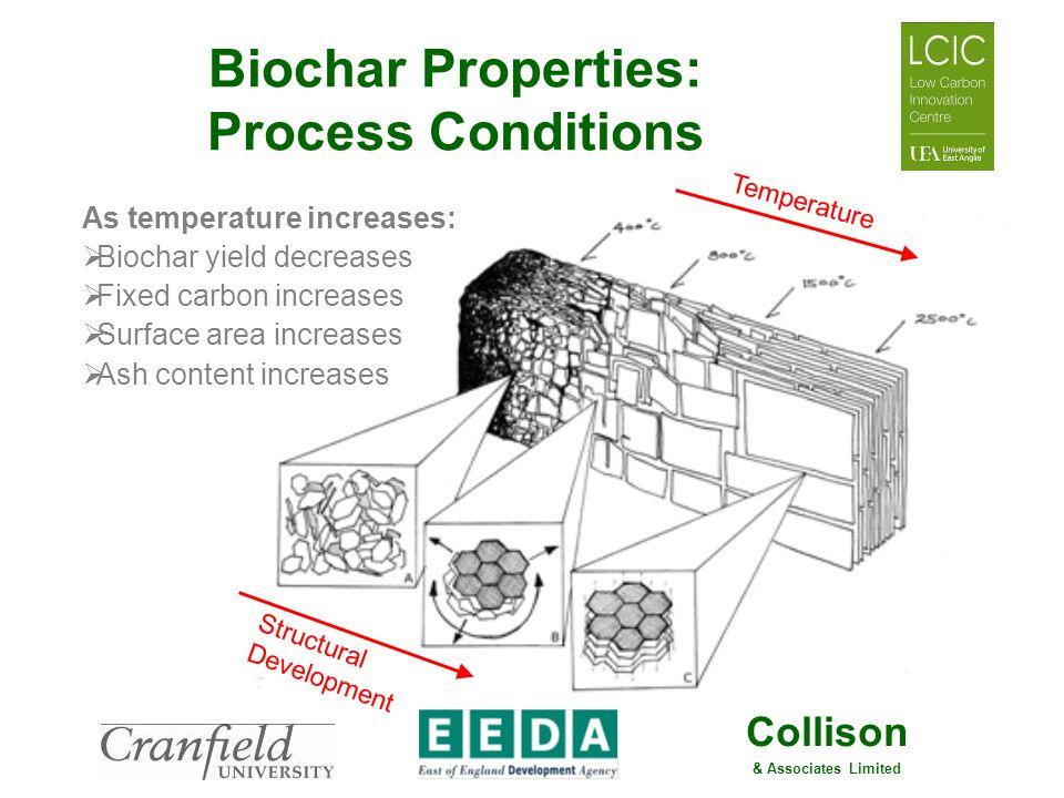 Biochar Properties: Process Conditions