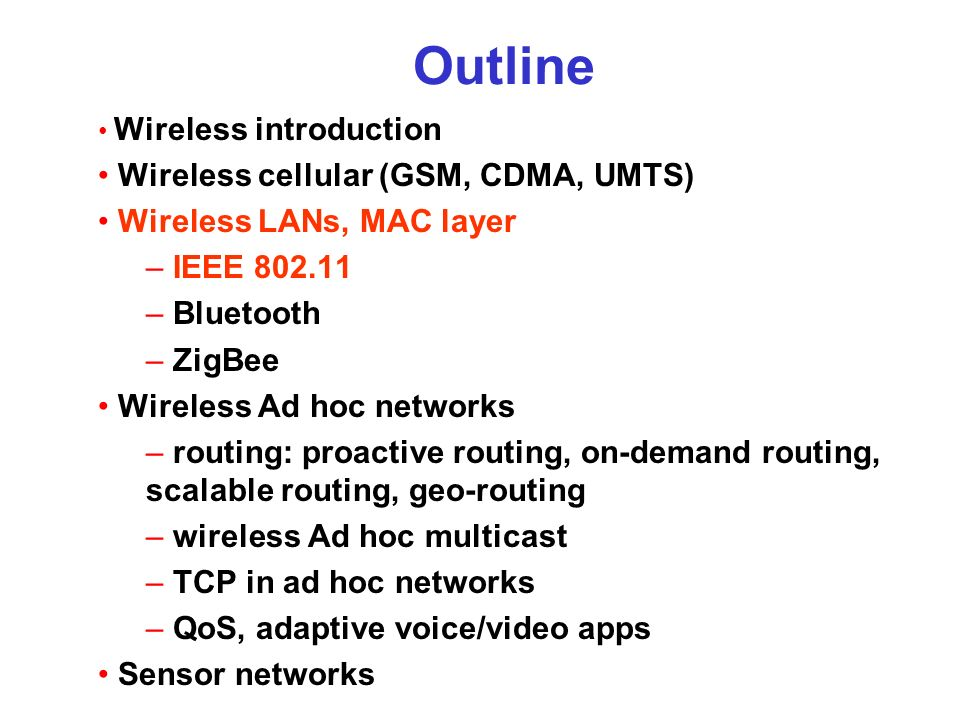 introduction of cdma wireless network planning Cdma introduction - learn cdma in what is cdma code division m it works together to lead the growth and evolution of advanced wireless telecommunication systems.