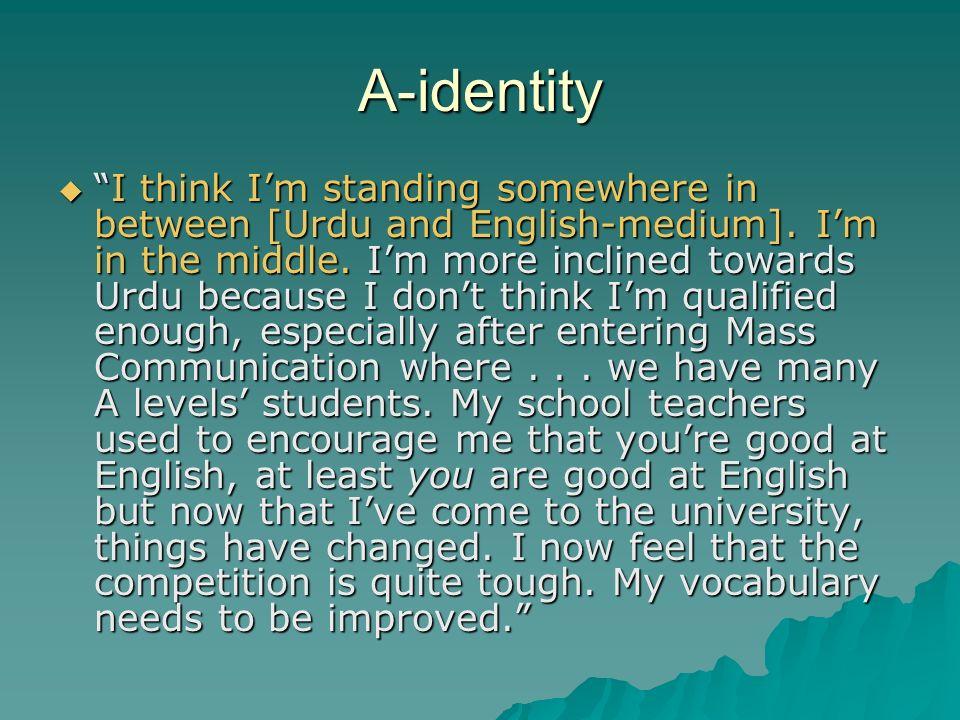 A-identity