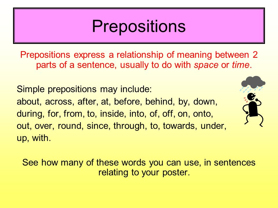 Spelling punctuation and grammar spag ppt video for Definition of space in a relationship